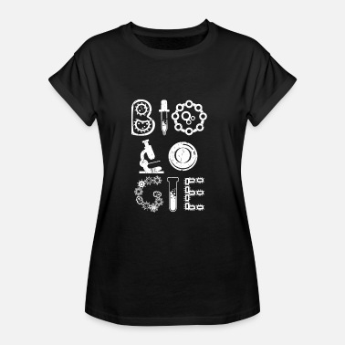 Biology Funny Biology Biologist T Shirt Biology - Women's Oversize T-Shirt