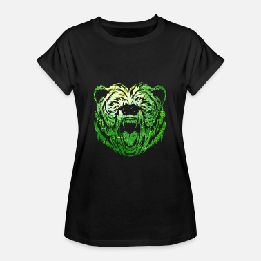 Amazonfloden Jungle Lion Rainforest djurskyddsmiljö - Oversize-T-shirt dam