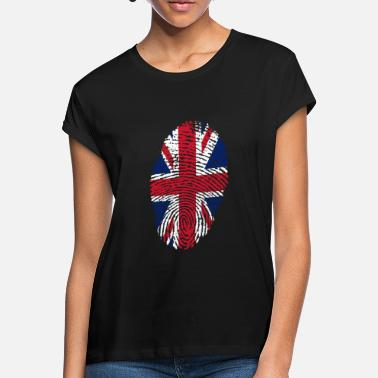 Uk Fingerprint - UK - Frauen Oversize T-Shirt