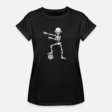 Water Water polo floss flossing skeleton Halloween - Women's Oversize T-Shirt