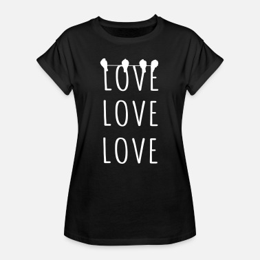 Loved Love Love Love - Women's Oversize T-Shirt