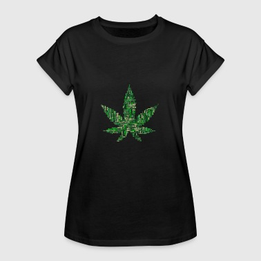 Stoned Bone Weed - Women's Oversize T-Shirt