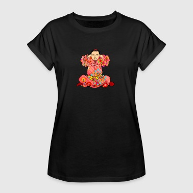 Qigong exercise to treat dizziness - Women's Oversize T-Shirt
