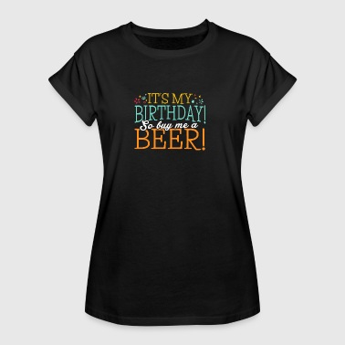 47 birthday beer - Frauen Oversize T-Shirt