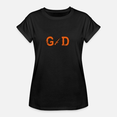 God Soldier Legend god god SOLDIER - Women's Oversize T-Shirt
