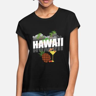 Hawaii Hawaii - Oversize T-skjorte for kvinner