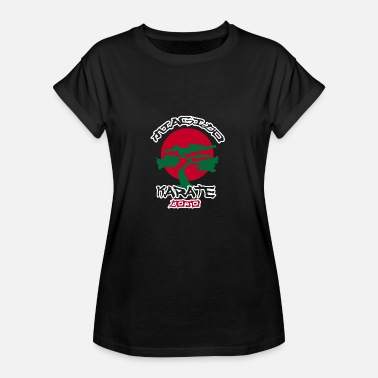 Karate Kid Miagi Karate Dojo - Karate Kid - Naisten oversized-t-paita