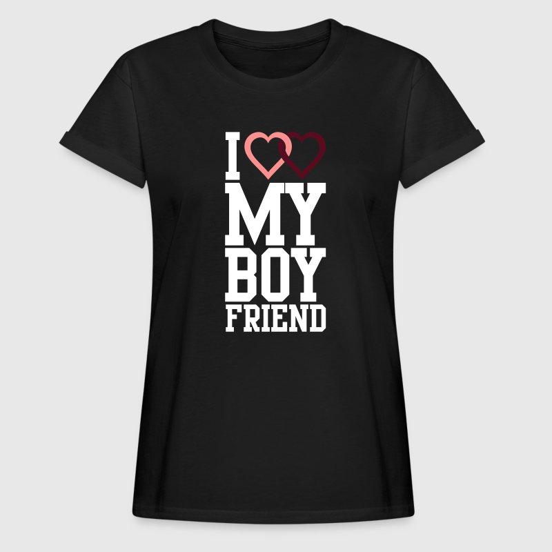 i love my boyfriend von cheesyb spreadshirt. Black Bedroom Furniture Sets. Home Design Ideas