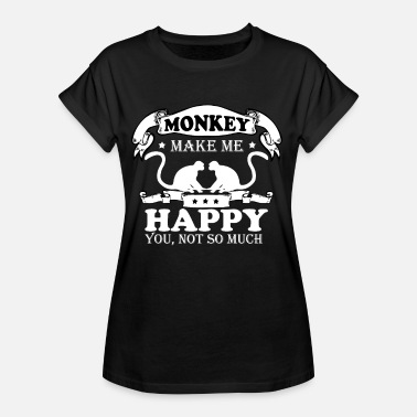 Animal Love Animal Rights Activists Monkeys love animal rights activists - Women's Oversize T-Shirt