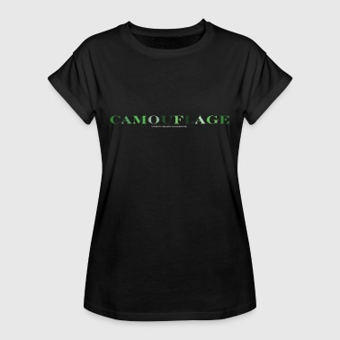Camouflage Camouflage - Dame oversize T-shirt
