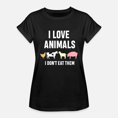 vegan - Women's Oversize T-Shirt