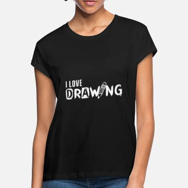 Drawing Drawing drawing drawing drawing - Women's Loose Fit T-Shirt