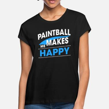 Paintball PAINTBALL - T-shirt oversize Femme