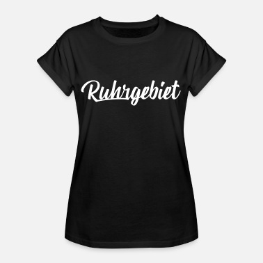 Ruhrgebied Ruhrgebied wit - Vrouwen oversize T-shirt