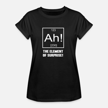 Element Ah! The Element of Surprise! - Frauen Oversize T-Shirt
