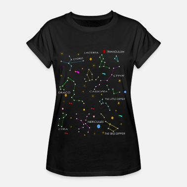 Konstellation konstellationer - Oversize-T-shirt dam