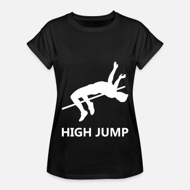 Jump Wisdom High jump - Women's Oversize T-Shirt
