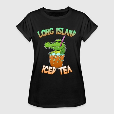 Long Island Iced Tea Cocktail Party Alcohol Funny - Koszulka damska oversize