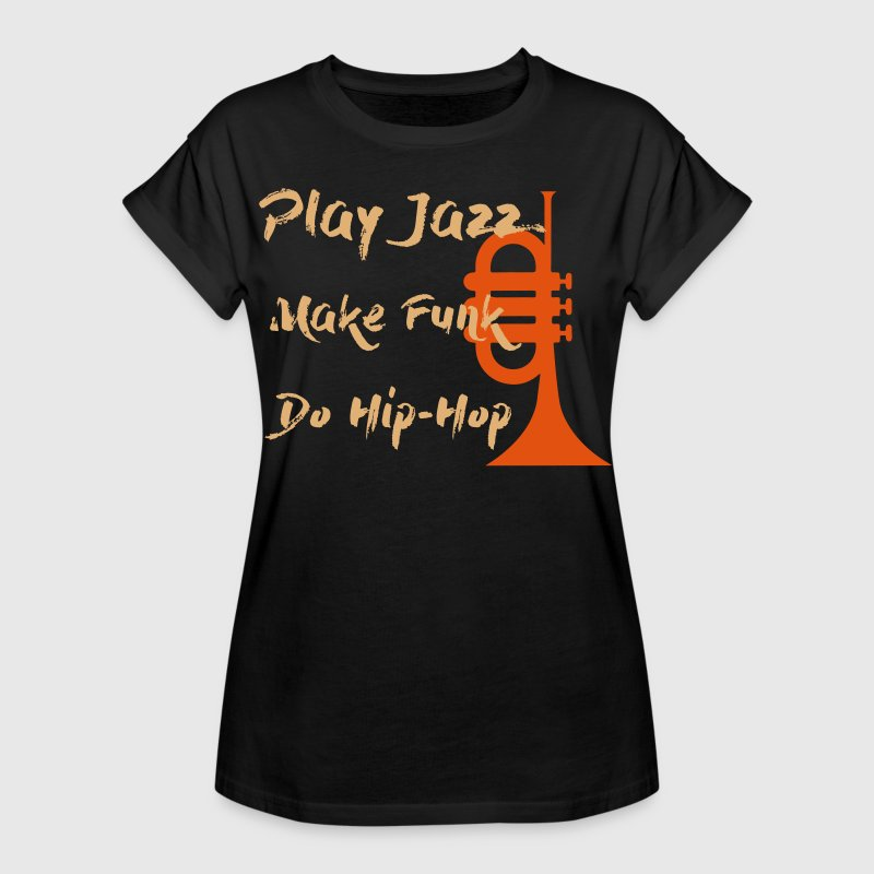 Play Jazz trompette 3 - T-shirt oversize Femme