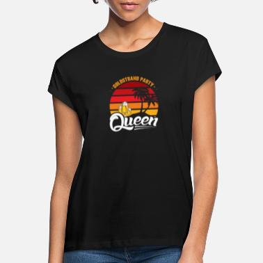 Drinken Golden Sands Party Queen Vacation Bulgaria Beer Girl - Vrouwen oversized T-Shirt