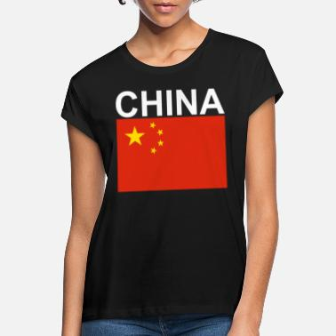 China; flag - Women's Loose Fit T-Shirt