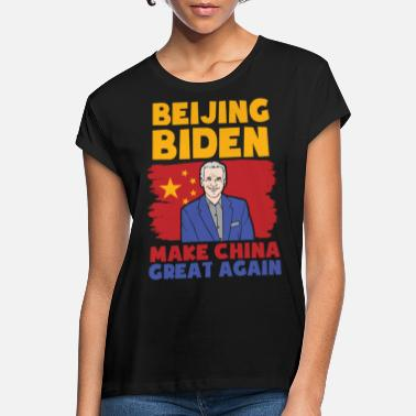 Beijing Biden Political Politician Anti Biden Gesc - Women's Loose Fit T-Shirt