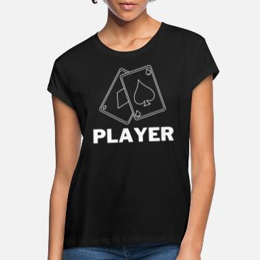 Gamer Cards Player | Tee with a Cause - Frauen Oversize T-Shirt