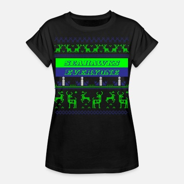 Seattle Seahawks Football Super Bowl Seattle America Sport Seahawks - Women's Loose Fit T-Shirt