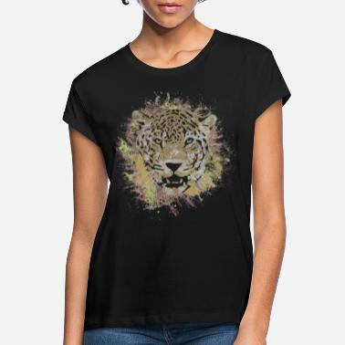 Safari Jaguar Safari Cat Leopard Animal Panther Gift - Vrouwen oversized T-Shirt