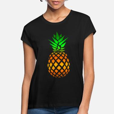 Exotic Pineapple Fruit Exotic - Women's Loose Fit T-Shirt