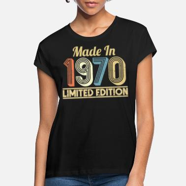 September 50. Geburtstag Edition Made In September 1970 - Frauen Oversize T-Shirt