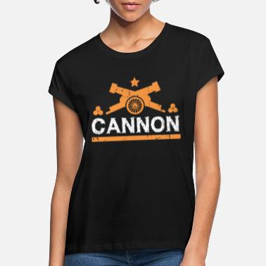 Cannonball Cannon gift cannonball fortress - Women's Loose Fit T-Shirt