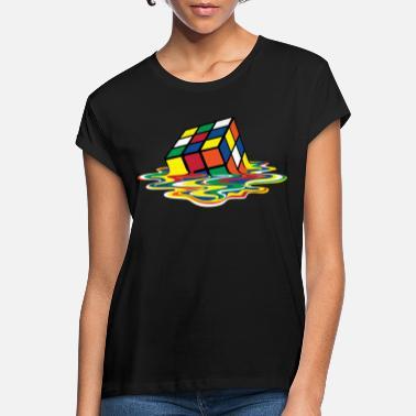 Rubik's Cube Melting Cube - Women's Loose Fit T-Shirt