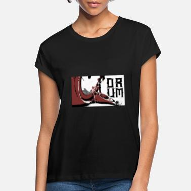 Drums Big drum concert band drummer gift idea - Women's Loose Fit T-Shirt