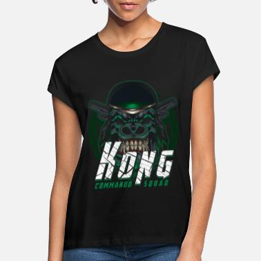Commando Commando Squad Kong - Women's Loose Fit T-Shirt
