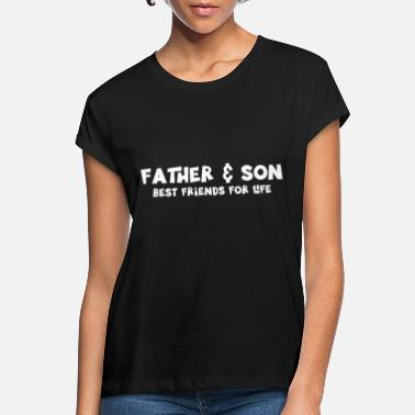 Daddy Far & Sønn | Familievenner Dad Daddy Gift - Oversize T-skjorte for kvinner