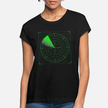 Radar Cool Radar - Frauen Oversize T-Shirt