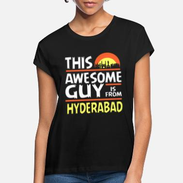 Hyderabad Hyderabad India - Camiseta holgada mujer