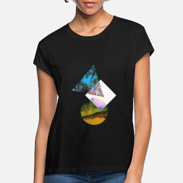Geo Geo - Women's Loose Fit T-Shirt