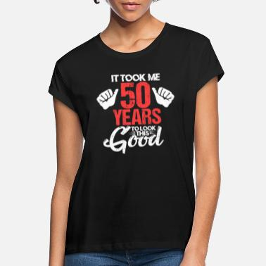 Bday 50th birthday 50 years 1970 bday gift - Women's Loose Fit T-Shirt