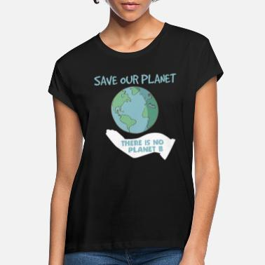 Planet Gem vores planet - Oversize T-shirt dame