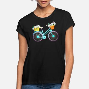 Bicyclette BIKE - BICYCLE - BICYCLE - BICYCLETTE - VELO LOVE - Women's Loose Fit T-Shirt