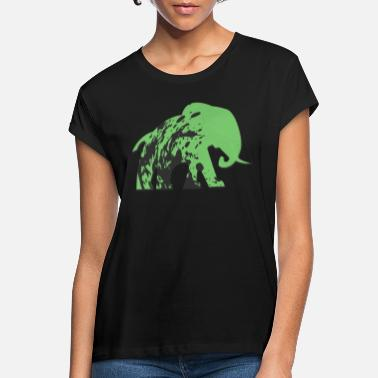 Urban elephant! - Women's Loose Fit T-Shirt