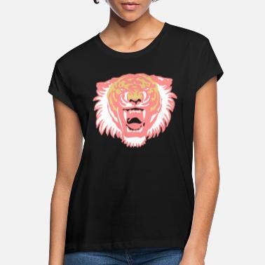 Roaring Tiger Three Colours by Cheerful Madness!! - Women's Loose Fit T-Shirt