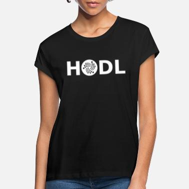 Iota HODL IOTA - Women's Loose Fit T-Shirt