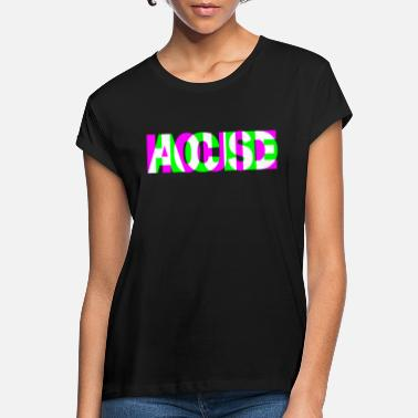 House acid house techno dubstep dj raver party edm - Women's Loose Fit T-Shirt