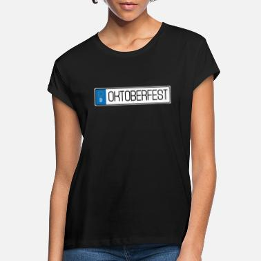 License Plate Oktoberfest license plate - Women's Loose Fit T-Shirt