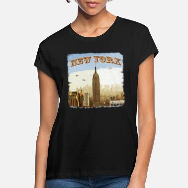 New York Jets New York - Frauen Oversize T-Shirt