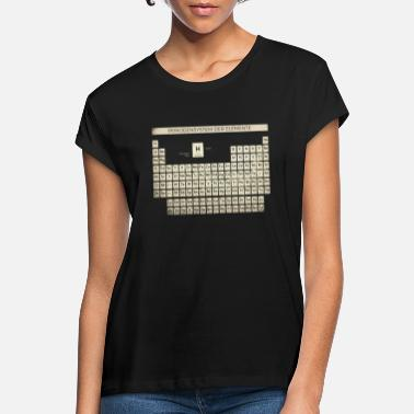 Periodic Table Periodic Table Shirt Vintage - Women's Loose Fit T-Shirt