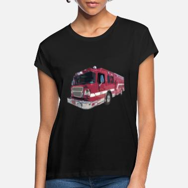 Fire Engine Fire department, fire engine, gift - Women's Loose Fit T-Shirt